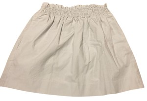 J.Crew High Waisted Pockets Mini Skirt Grey