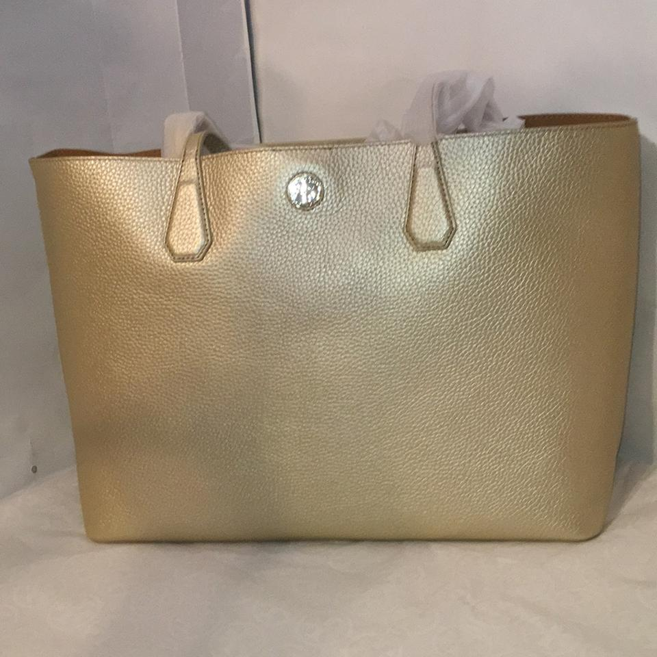 5660ec8a785 Tory Burch Perry Golden Tote Bag   Totes on Sale