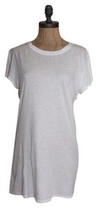 Vince Basic Tee Casual T Shirt WHITE