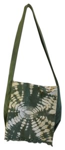 Gap Army Green Tie Dye Messenger Bag