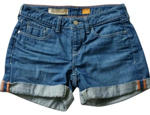 Anthropologie Roll-up Five-pocket Styling Imported Classic 6 Inch Cuffed Shorts Denim