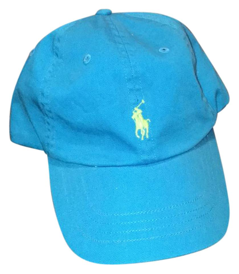 2a095a6ef8 Ralph Lauren Blue with Lime Green Detail Polo Sport Hat - Tradesy