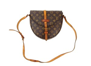 Louis Vuitton Crossbody Vintage Monogram Chantilly Shoulder Bag