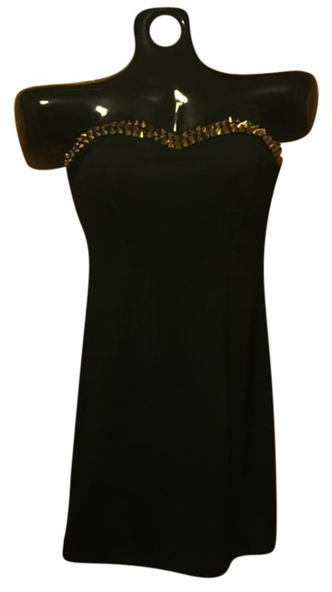 Item - Black Mini Short Night Out Dress Size 8 (M)