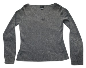 INC International Concepts Sparkly Top Silver