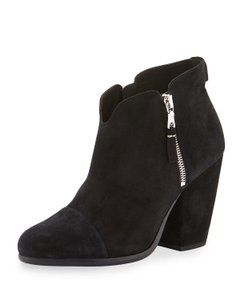 Rag & Bone And Margot Suede & Black Suede Boots