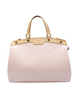 Louis Vuitton Patent Leather Satchel in Pink