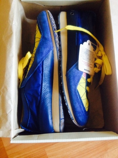 Diesel Sporty blue/yellow Athletic