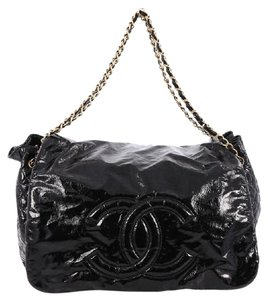 Chanel Rock And Chain Patent Tote