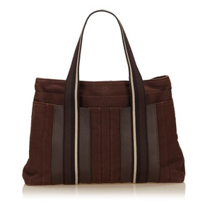 Herms Tote in Brown