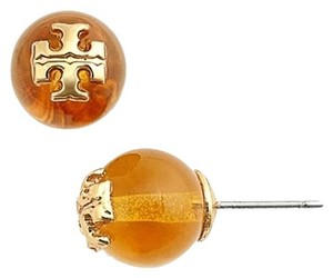 Tory Burch Tory burch Evie Pearl Stud Earrings Amber