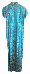 Peony Brand Shanghai Vintage Cocktail Asian Maxi Dress
