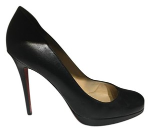 Christian Louboutin Simple Leather Black Pumps