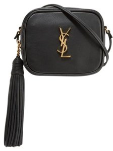 Saint Laurent Monogram Monogram Blogger Blogger Tassle Monogram Cross Body Bag