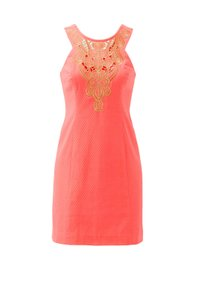 Lilly Pulitzer short dress Pink Cocktail on Tradesy