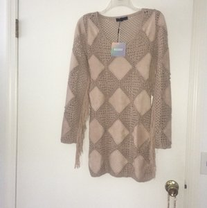 Missguided short dress Taupe on Tradesy