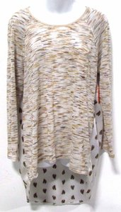 Very J Horse Animal Print Print Tunic