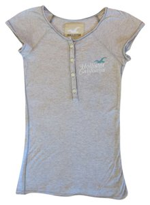 Hollister T Shirt Grey