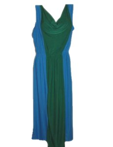 Blue Green Maxi Dress by Jon & Anna Long Maxi