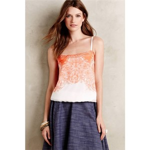 Anthropologie Blouse Printed Top