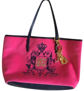 Juicy Couture Tote in blue/pink