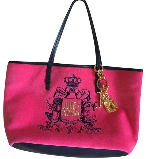Preload https://img-static.tradesy.com/item/21250850/juicy-couture-012-0-bluepink-leatherother-tote-0-1-540-540.jpg