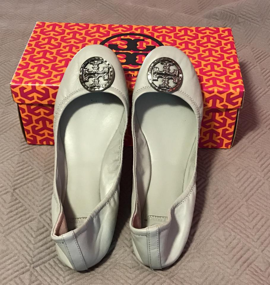 Tory Burch Smooth Smooth Smooth Blue Violet Ballet-mestico Flats 27515c