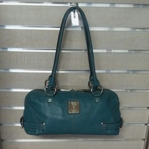 Tignanello Satchel in Teal blue