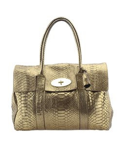 Mulberry Python Shoulder Bag