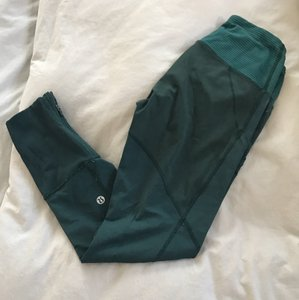 Lululemon Green/ Teal /Navy Leggings