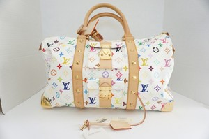 Louis Vuitton Keepall 45 Keepall Designer Travel Multicolored Travel Bag