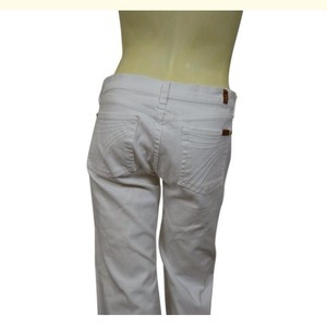 7 For All Mankind Capris white