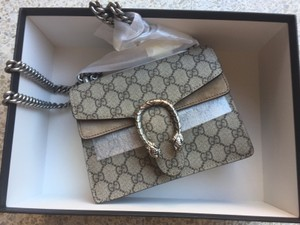 Gucci Handbag Chains Snake Shoulder Bag