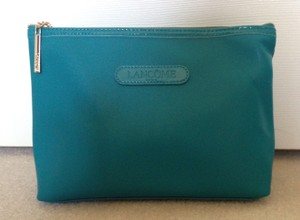 Other New Lancome silk-lined cosmetic bag with zipper closure
