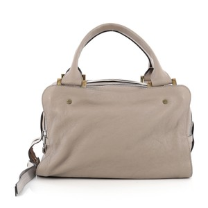 Chloé Chloe Leather Satchel in Taupe