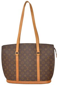 Louis Vuitton Monogram Babylone Tote in Brown