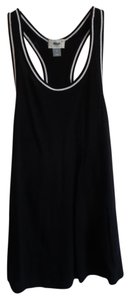 Old Navy Top black with white trim