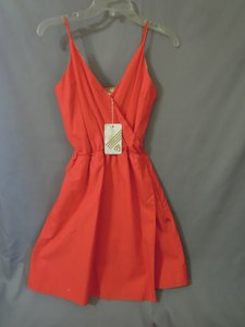 Matix short dress orange on Tradesy