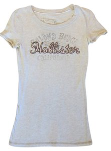 Hollister T Shirt Beige