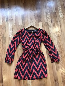 My Michelle Night Out Chevron Party Dress