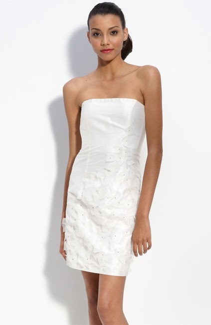 Preload https://img-static.tradesy.com/item/21252301/suzi-chin-for-maggy-boutique-ivory-strapless-silk-shantung-with-organza-appliques-short-cocktail-dre-0-1-650-650.jpg