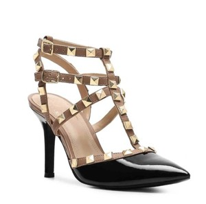 BCBGeneration BLACK ADOBE GOLD Sandals