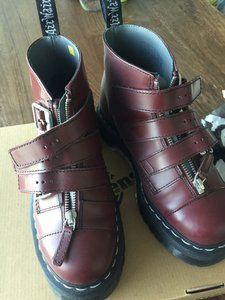 Dr. Martens Cherry Red Boots