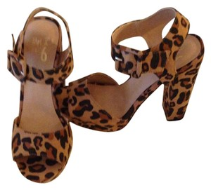 Mix No. 6 Animal Print Platforms