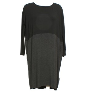 Eileen Fisher short dress Black Charcoal on Tradesy