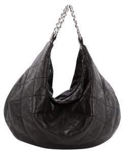 Chanel Leather Hobo Bag