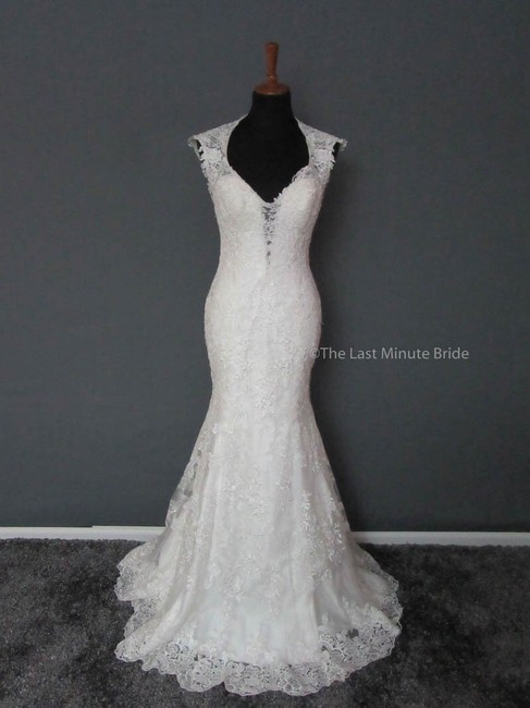 Maggie Sottero Super Sale Melita Feminine Wedding Dress Size 10 (M) Maggie Sottero Super Sale Melita Feminine Wedding Dress Size 10 (M) Image 1