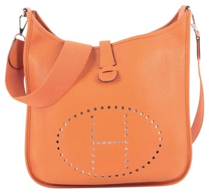 Hermès Evelyne Leather Cross Body Bag