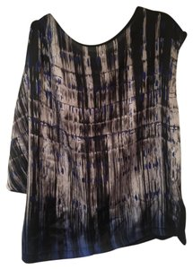 Kenneth Cole Top Multi black,blue and gray