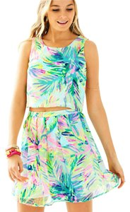 Lilly Pulitzer Skirt Multi Island Time